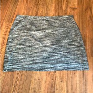 Heather Gray Skirt XL